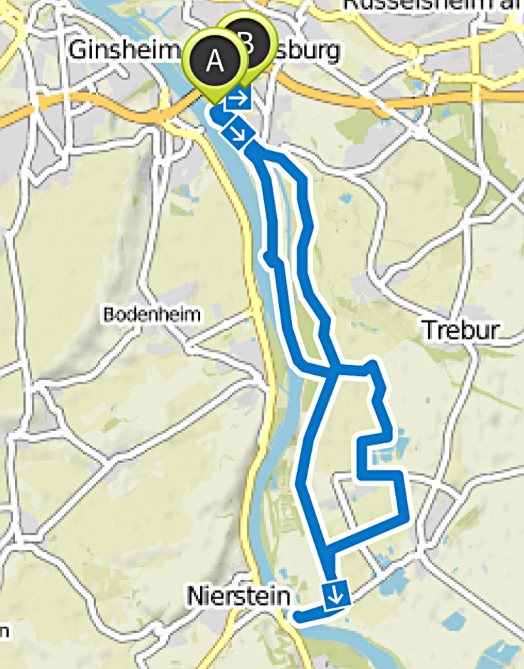 Altrhein_ Hofgut Langenau bis Kornsand - Fahrradtour _ Komoot - Fahrrad- & Wander-App