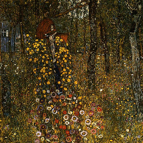 Gustav_Klimt_-_Bauerngarten_mit_Kruzifix_1911-12